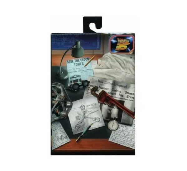 Back To The Future 7 Ultimate Doc Brown bttf2 neca 1