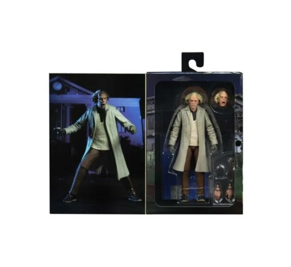 Back To The Future 7 Ultimate Doc Brown bttf2 neca 2