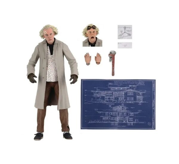 Back To The Future 7 Ultimate Doc Brown bttf2 neca 3