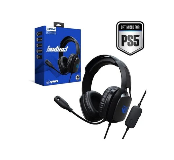 Headset Wired Instinct Deluxe Kmd PS4 Negro 1