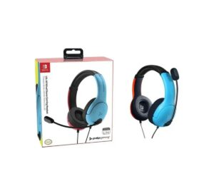 Lvl40 Stereo Headset Blue red pdp Nintendo Switch Azul 1