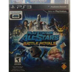 Playstation All stars Battle Royale latam Ps3 1
