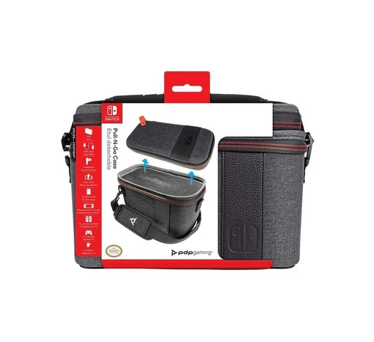 Pull n go Case Elite Edition pdp Switch switch Lite 1